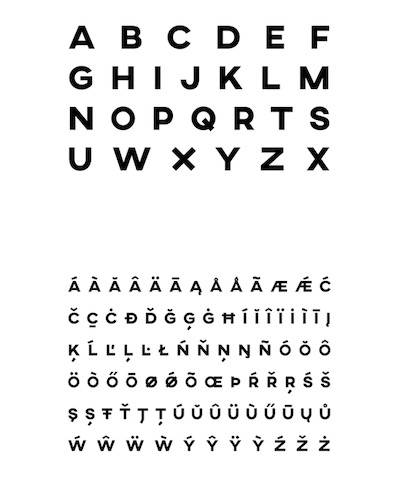 AXIS font download free for all