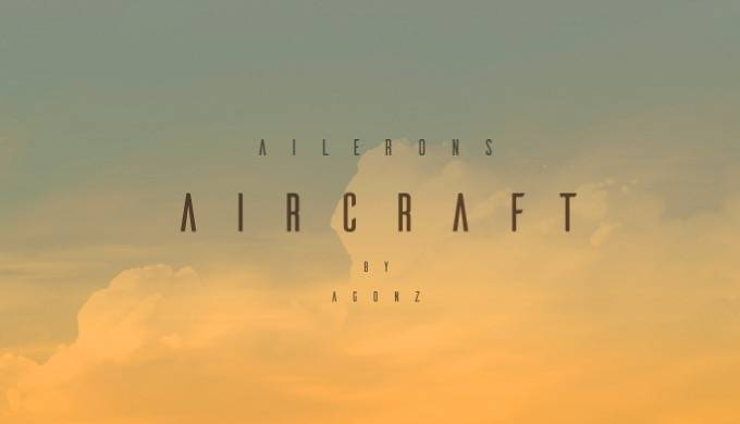 Ailerons font free download