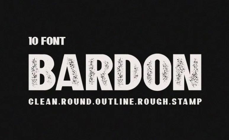 Bardon Font free