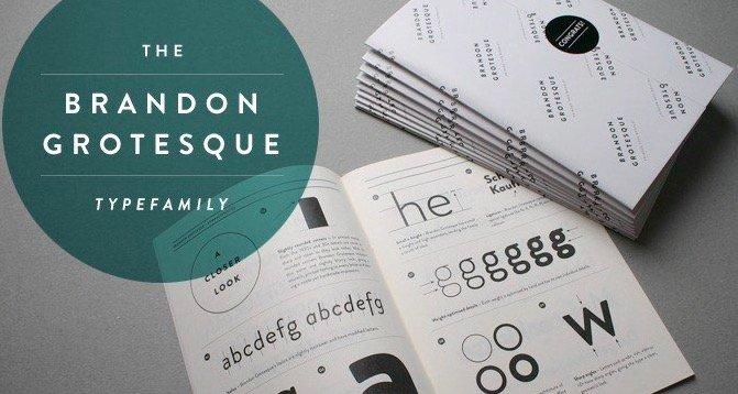 Brandon Grotesque Font free