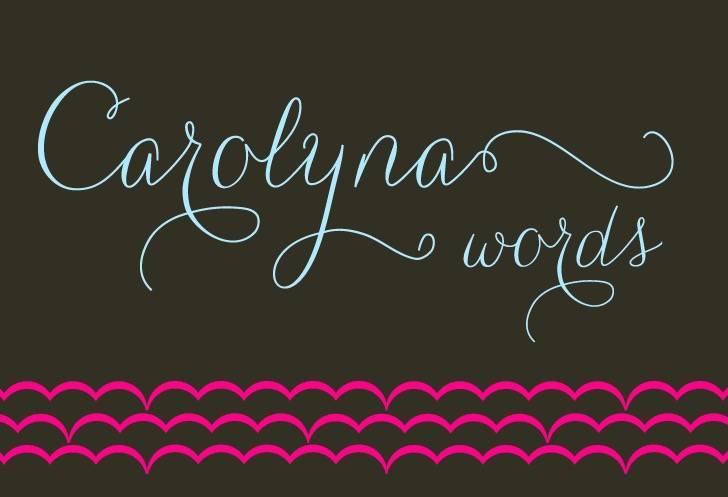 Carolyna Font free download