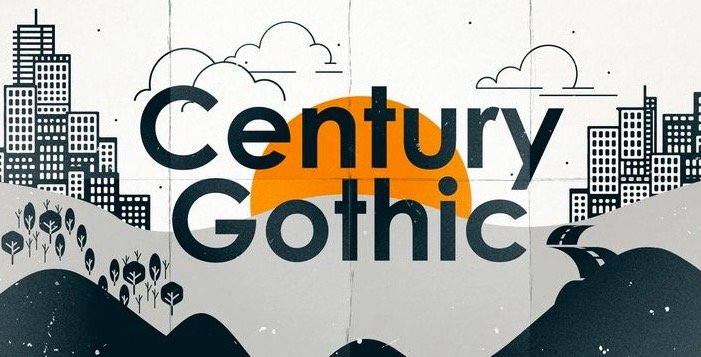 Century Gothic Font Free Download