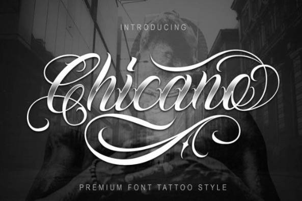 Chicano font download free