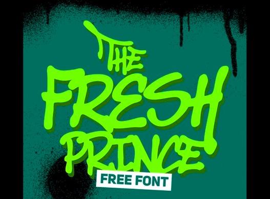 Free Fresh Prince Font
