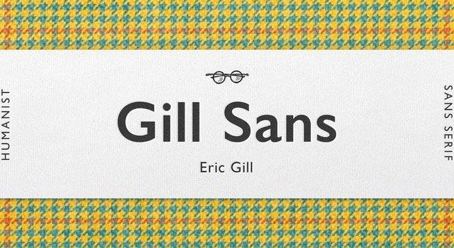 Gill Sans Font Free download