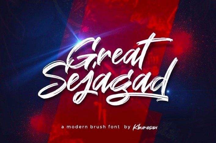 Great Sejagad Font
