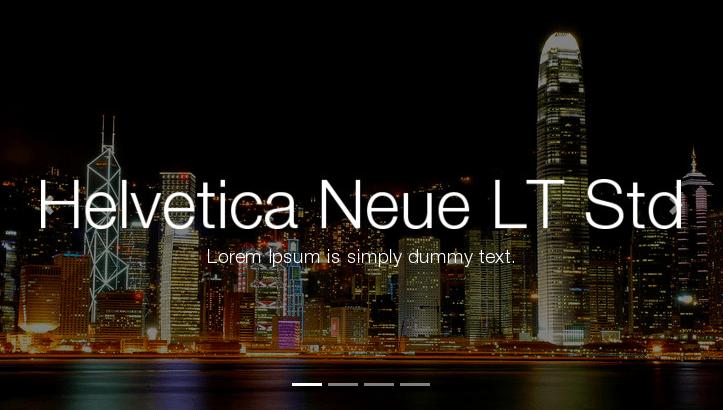 Helvetica Neue LT Std free