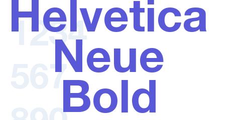 Helvetica Neue bold free