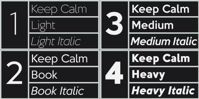 download Keep Calm font free