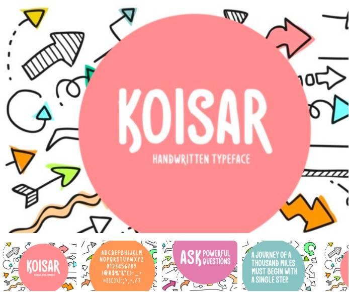 Koisar font free download