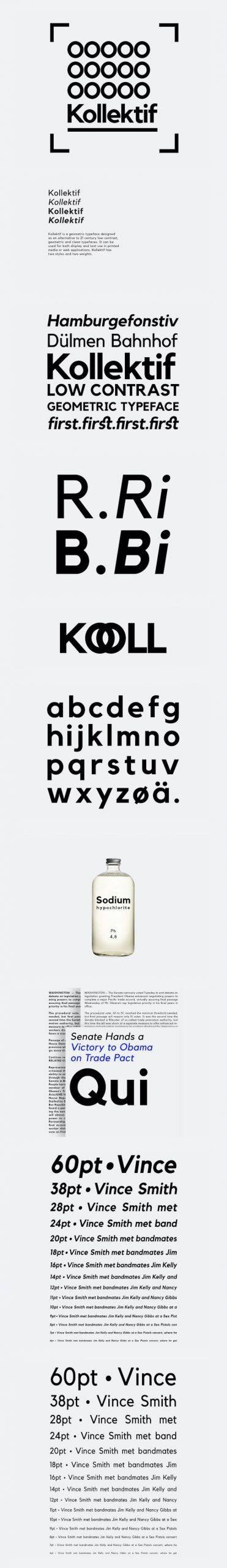 kollektif font free download