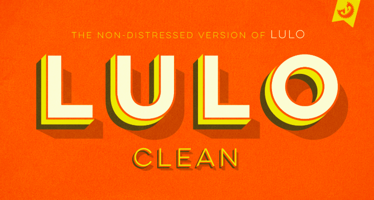 Lulo Clean Font Free download