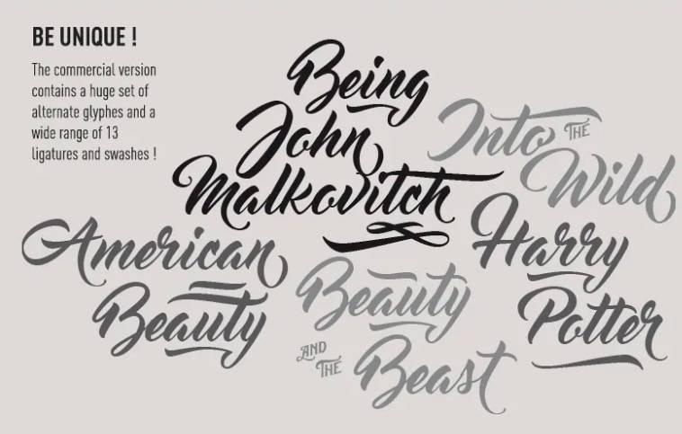 Master of Break Font Free download