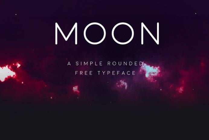 Moon font free download