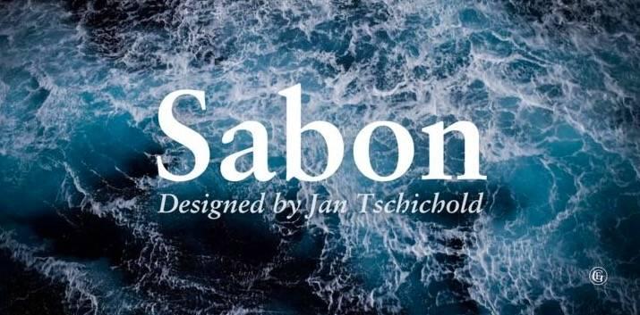 Sabon Font Free download