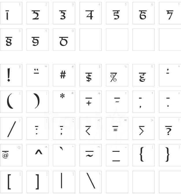 Samarkan Font