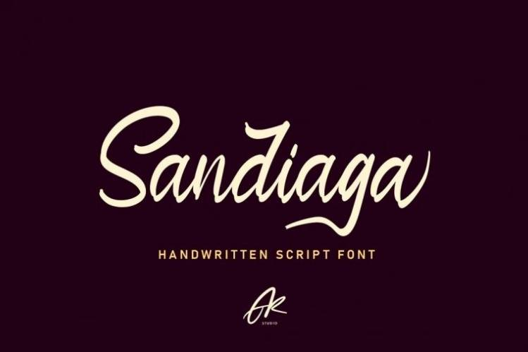 Sandiaga Font free download