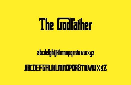 The Godfather font free download