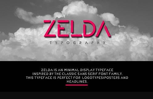 Zelda font free