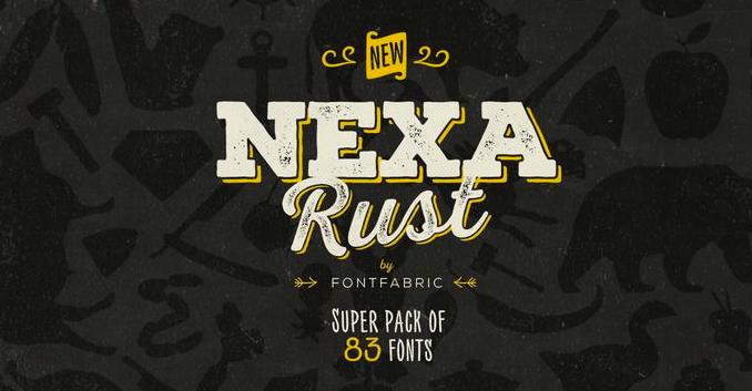 Nexa Rush font free download