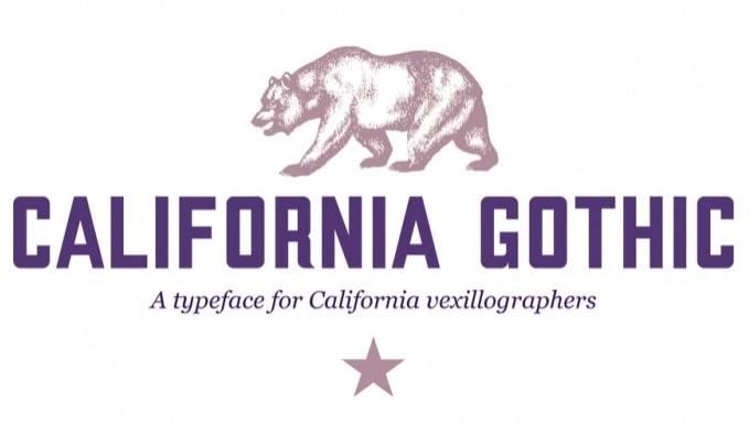 California Gothic Font