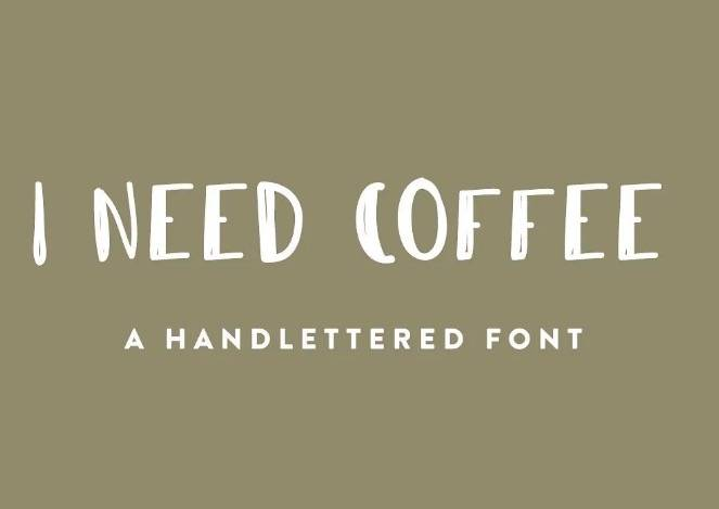 Coffee Font download