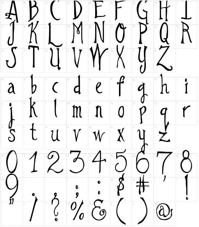 DJB I Love a Ginger Font free download