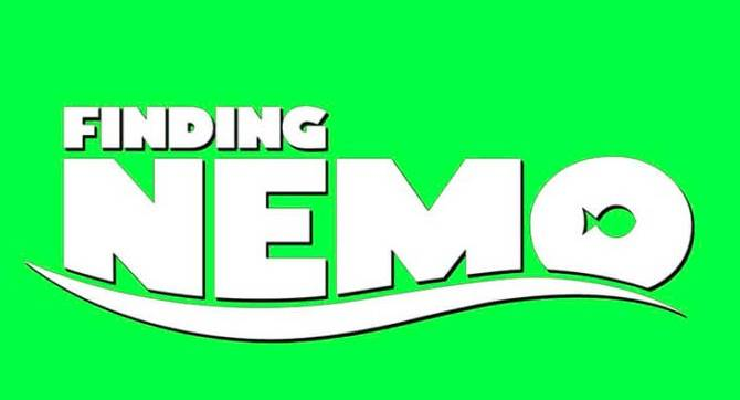 Finding Nemo font