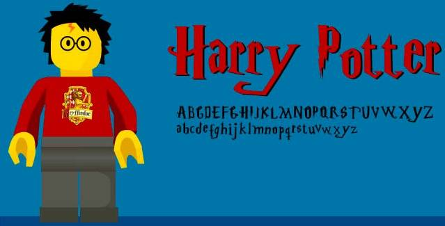 Harry Potter Font download free