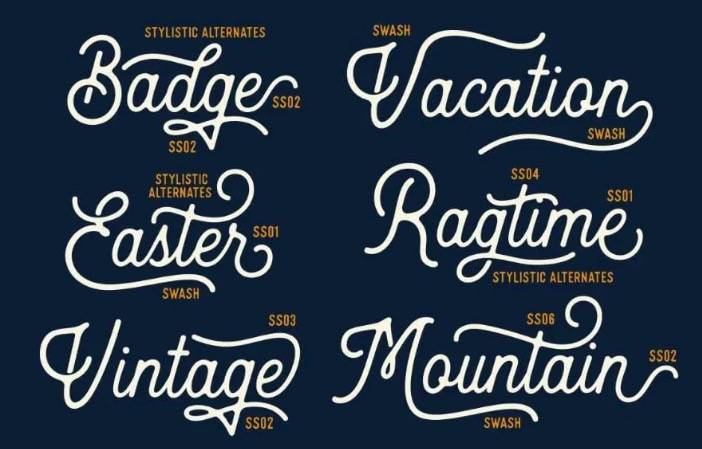 Heritage font free download