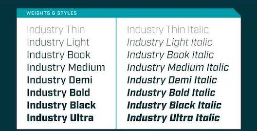download Industry Font