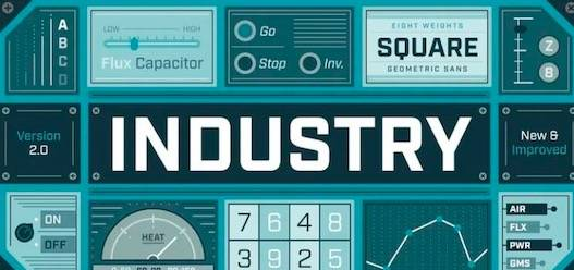 Industry Font