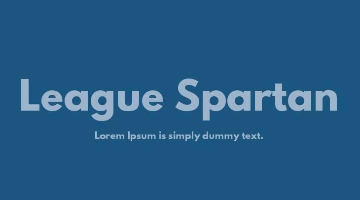 league spartan bold