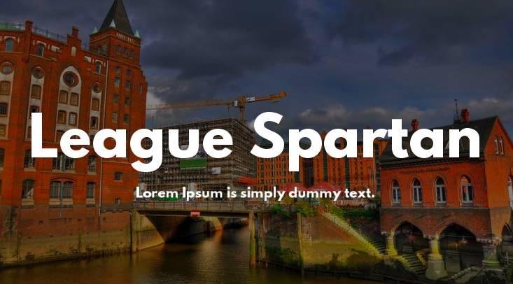 spartan font