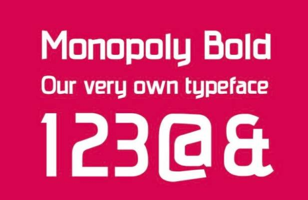 Monopoly Font free