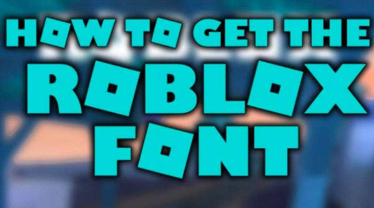 Roblox Font Style Roblox Font Download