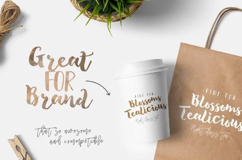 free tropical font download