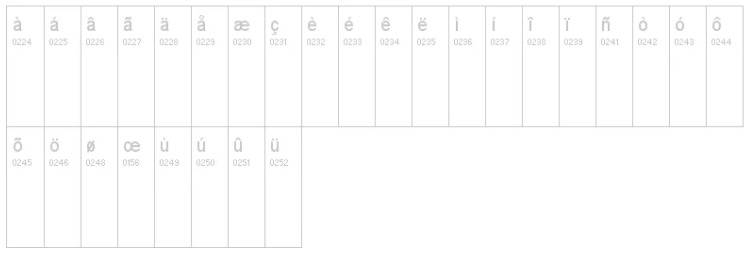 vogue typeface