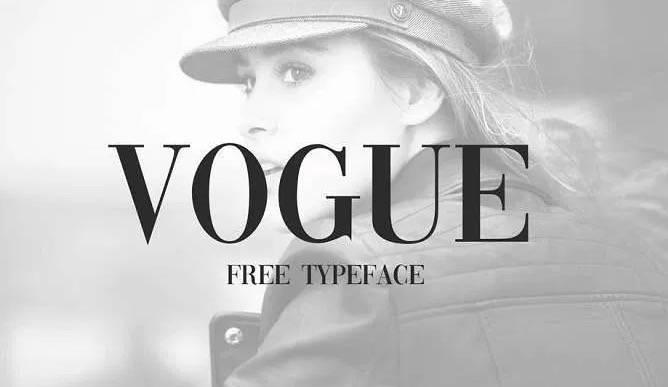 Vogue Magazine font