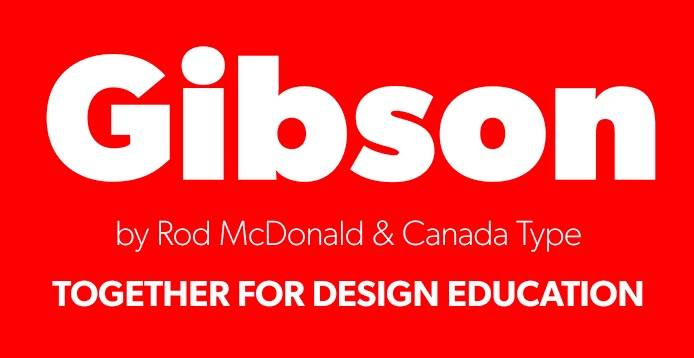 gibson bold font free