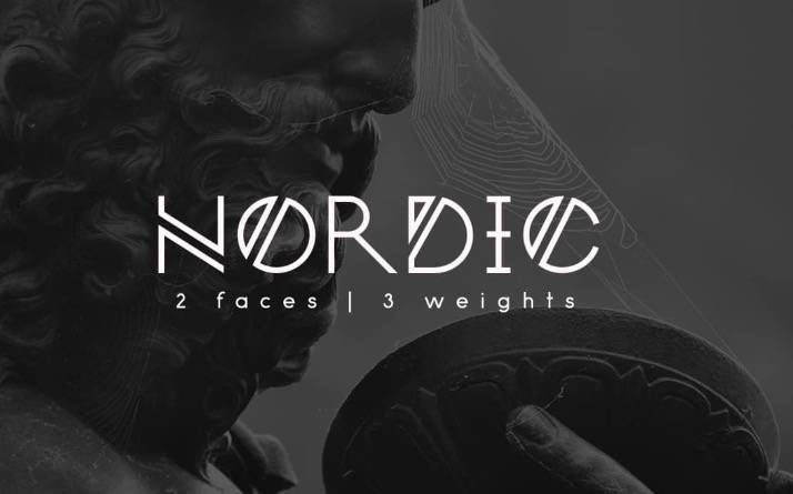 nordic font free