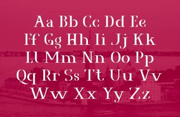 free Agrasia Serif Font