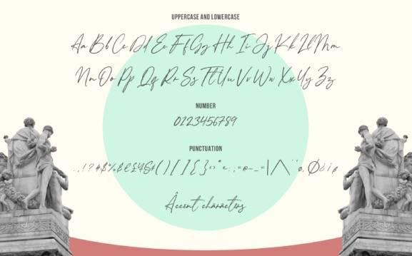Almondita Signature Font