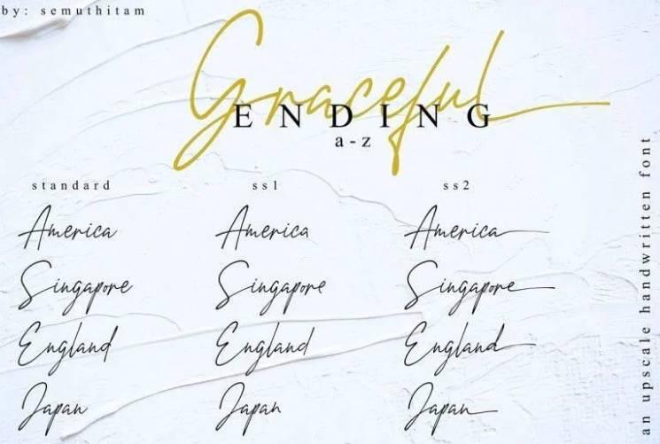free Amstirdam Handwritten Font