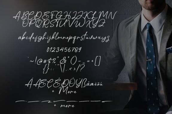 Angello Signature Font download