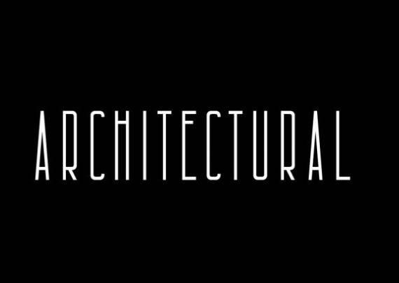 Architectural Sans Serif Font