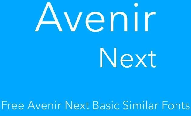 Avenir Next Pro Basic