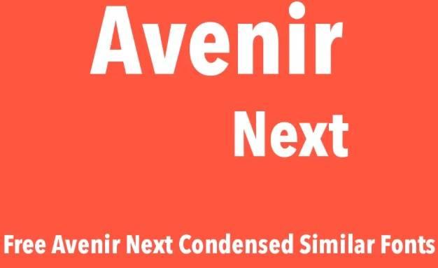 Avenir Next Pro Condensed Font Family