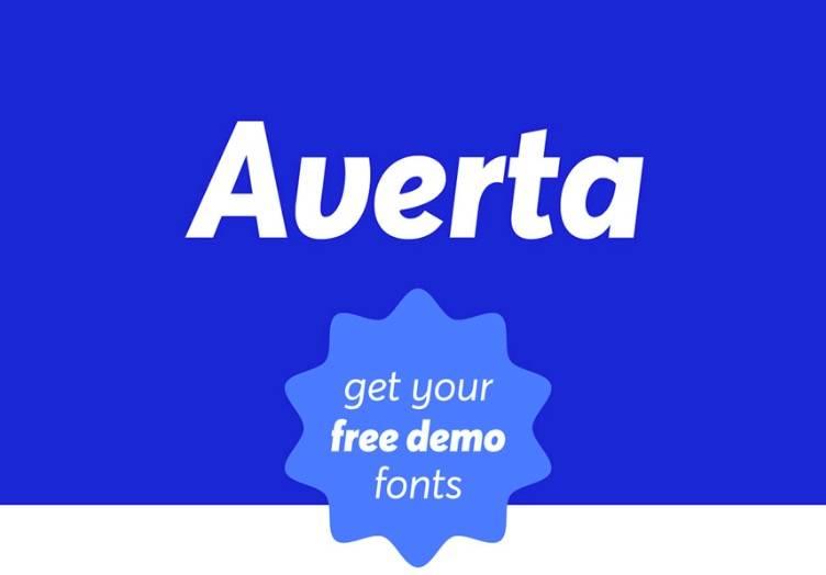 Averta Font download