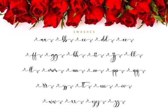 free Balimora Calligraphy Font
